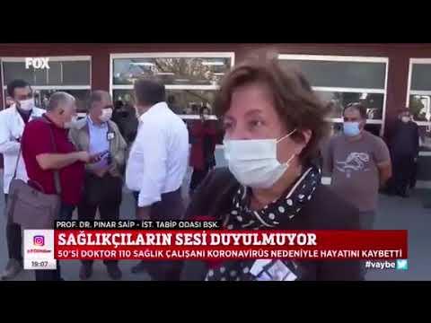 50'si doktor 110 sağlık çalışanı KoronaVirüs nedeniyle hayatını kaybetti