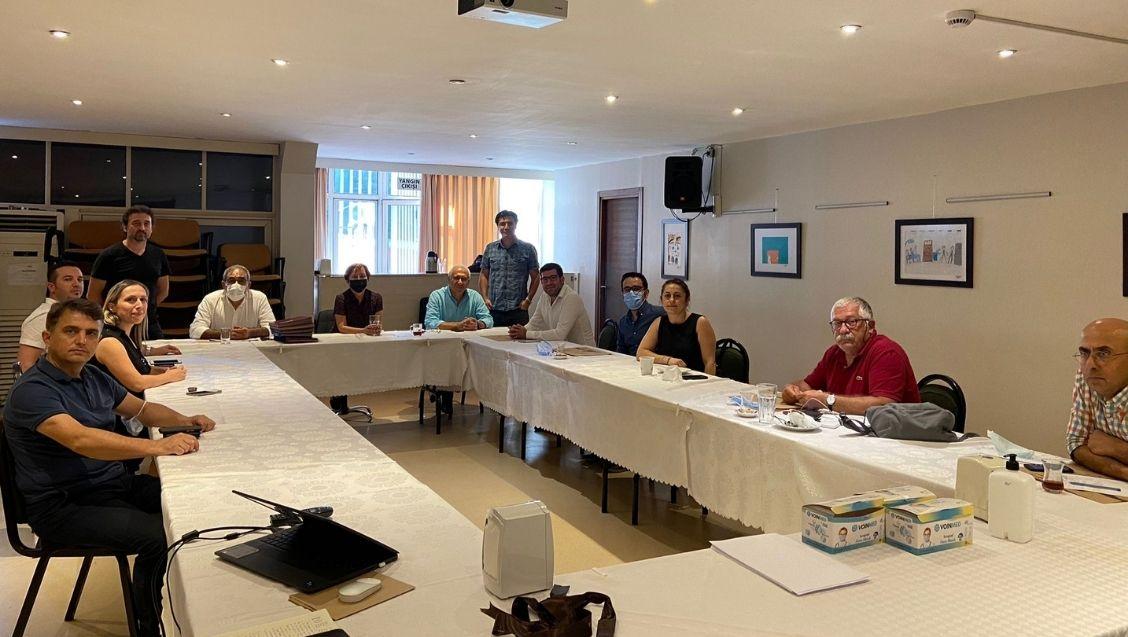İstanbul Aile Hekimliği Derneği (İSTAHED) Yönetim Kurulu, İstanbul Tabip Odası (İTO) Yönetim Kurulu'nu ziyaret etti