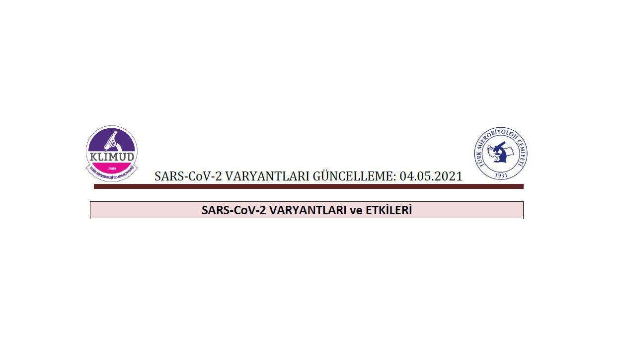 KLİMUD: SARS-Cov-2 Varyantları ve Etkileri