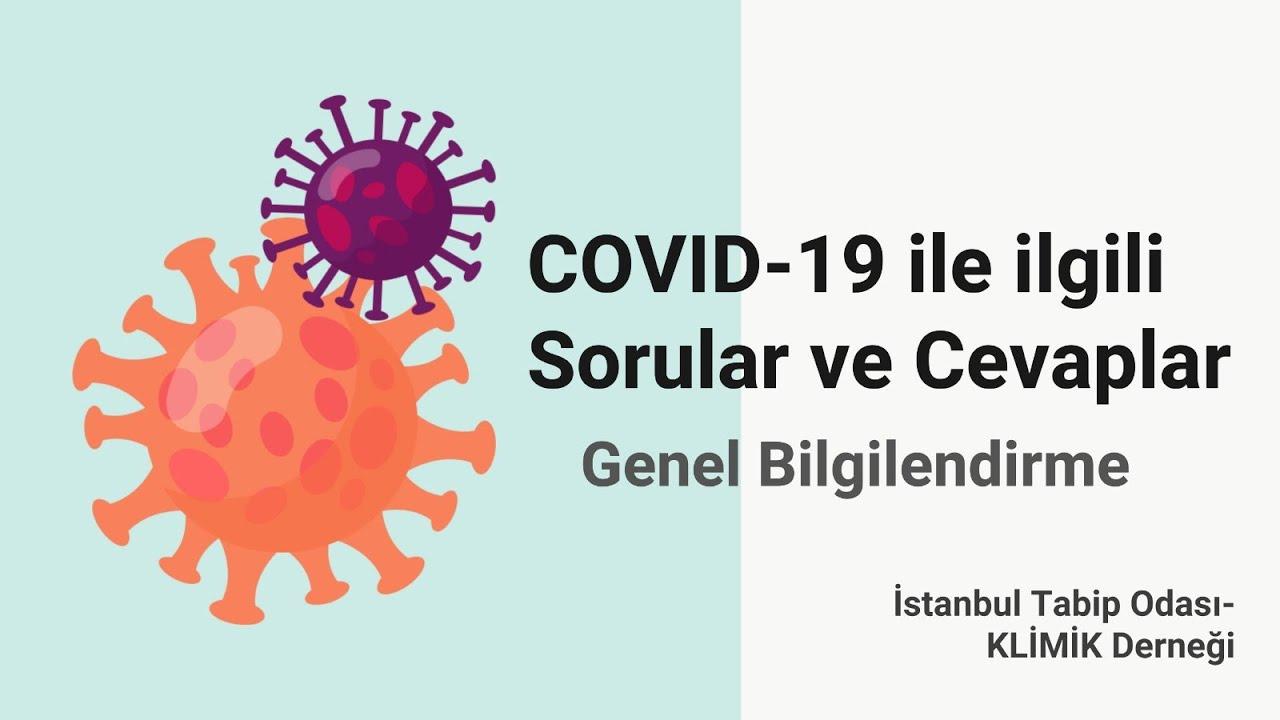 COVID-19 ile ilgili Sorular ve Cevaplar - Genel Bilgilendirme